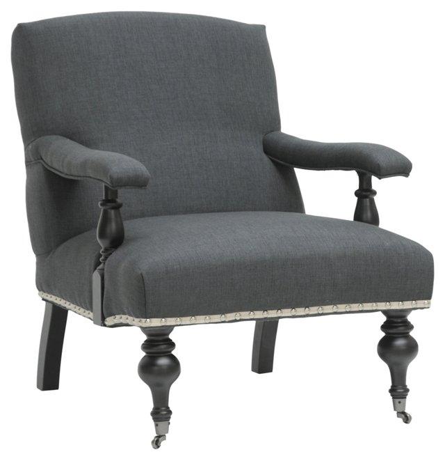 DNU, O-Galway Linen Armchair,