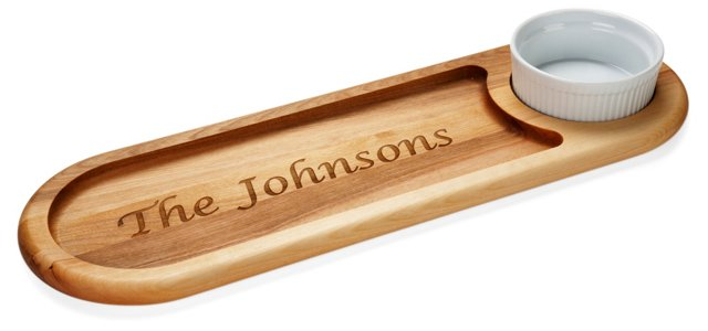 Personalized Bread Dipping Board