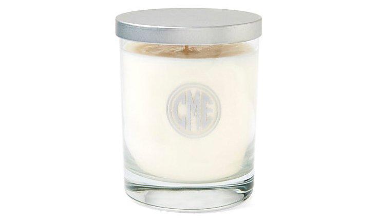 Circle Monogram Aromatherapy Candle