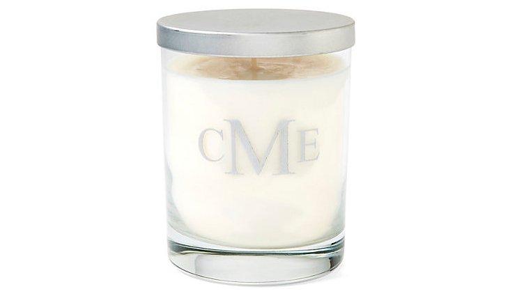 Block Monogram Aromatherapy Candle