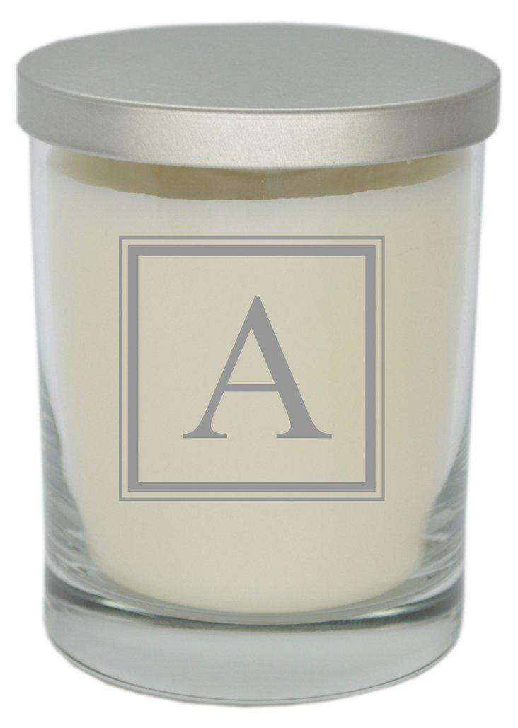 Square Monogram Aromatherapy Candle
