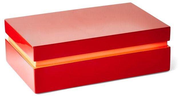 """8"""" Wood Box, Paprika"""