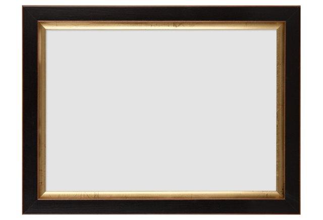 Gold-Lip Frame, 5x7, Black
