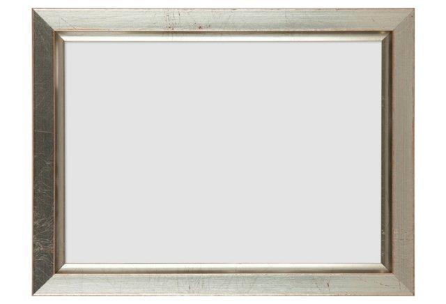 Crackled Frame, 5x7, Silver
