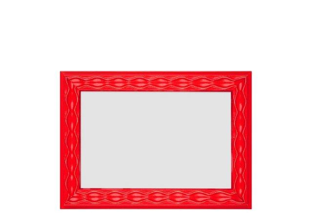 Gaudi Waves Frame, 4x6, Red