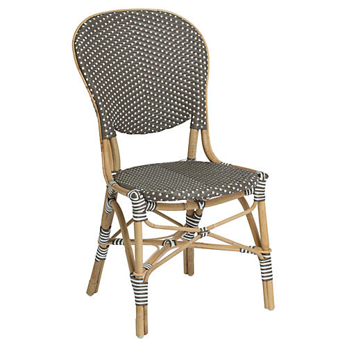 Isabell Outdoor Bistro Side Chair, Café