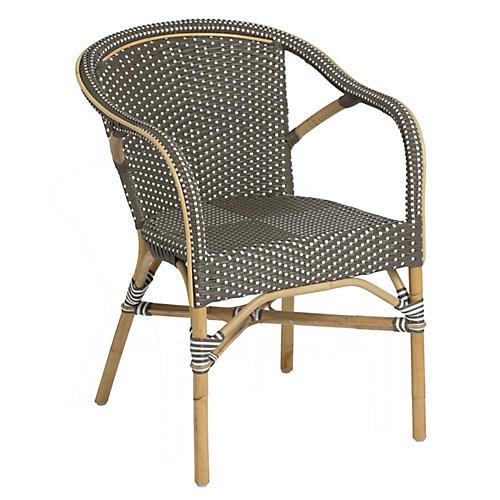 Madeleine Outdoor Bistro Armchair, Café