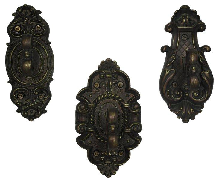 Asst. of 3 Alyssa Key Hooks