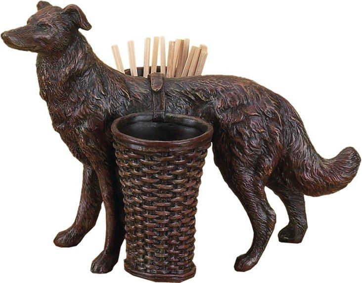 Hunting Dog w/ Baskets