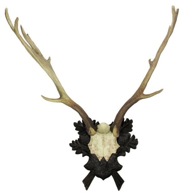 Faux Deer Antler Wall Decor, Natural