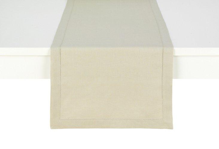 Linen Table Runner, Flax