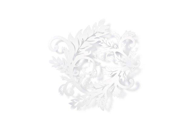 Small Wallpaper Hooks, White