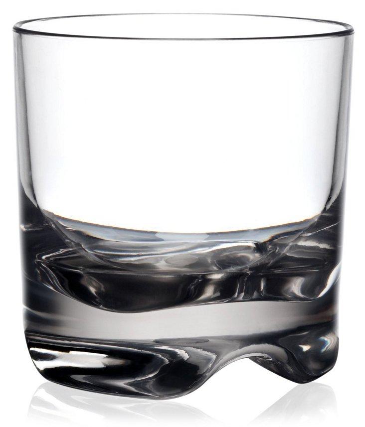 S/6 Hudson Unbreakable Rocks Glasses