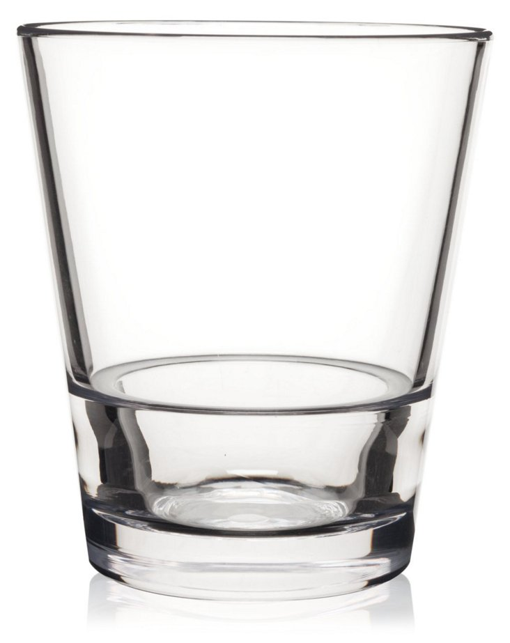S/6 Staxx Unbreakable Rocks Glasses