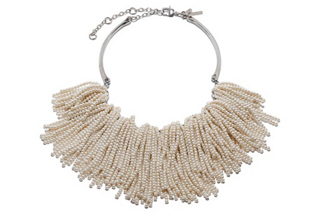 Weeping Willow Necklace, Pearl
