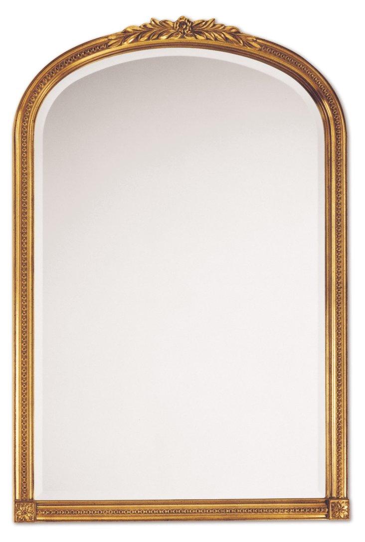 Ronan Wall Mirror, Gold