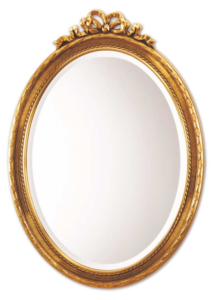 Pinesdale Wall Mirror, Gold