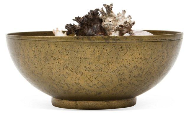 Indian Brass Hammam Bowl