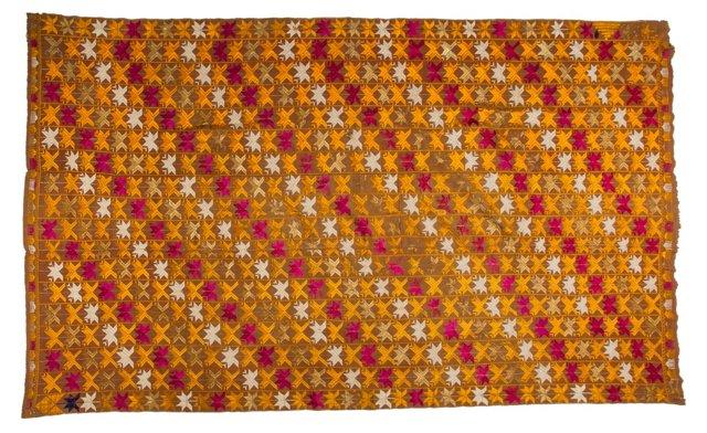Punjabi Phulkari Cloth, 2.8 Yds.