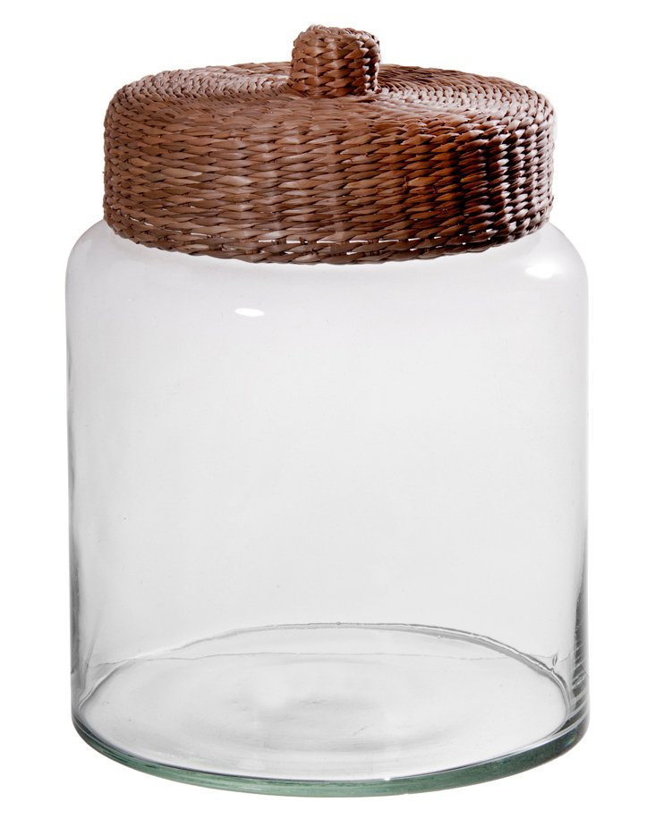 Willow Canister, Natural