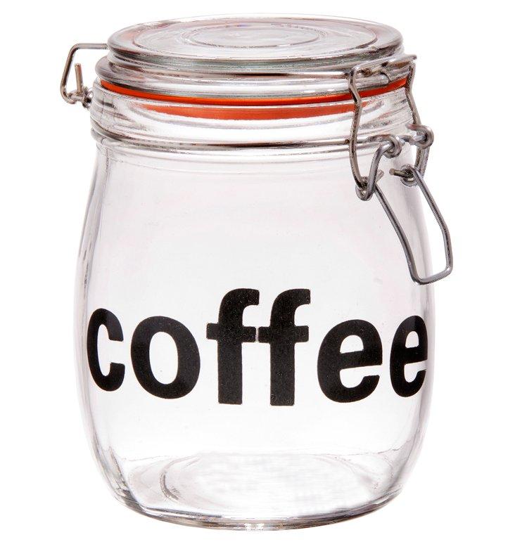 S/2 Preserve Coffee Bail & Trigger Jars