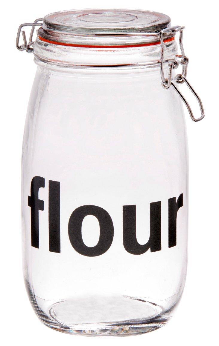 "Preserve ""Flour"" Bail & Trigger Jar"