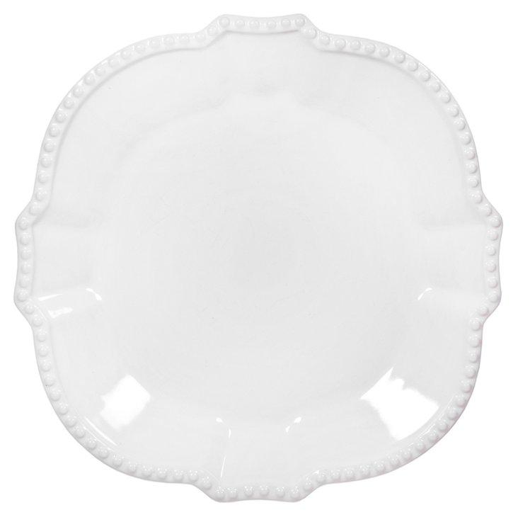 S/6 Beaded Dinner Plates