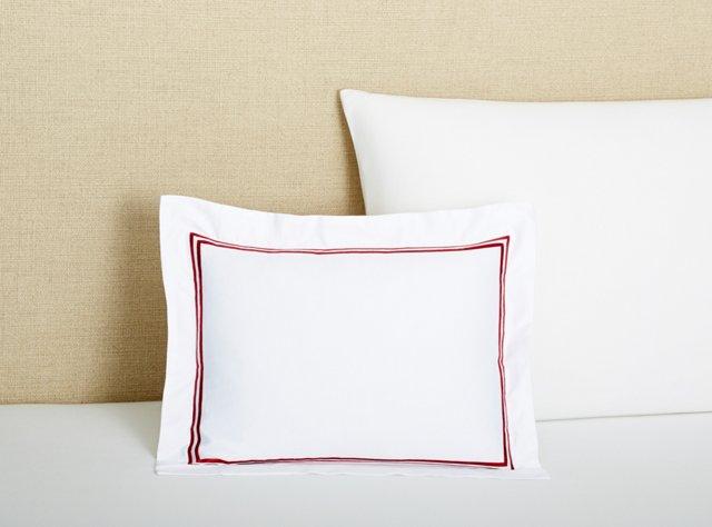 Boudoir Pillow, Burgundy