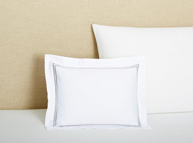 Boudoir Pillow, Gray