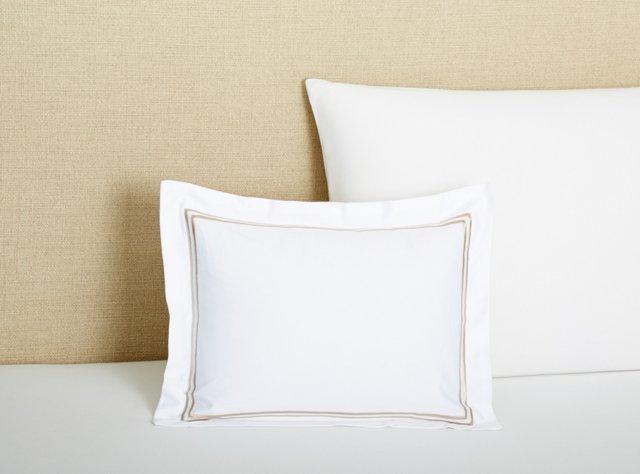 Boudoir Pillow, Latte