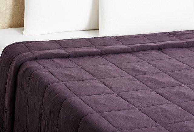 Stonewash Vagabond Blanket, Purple