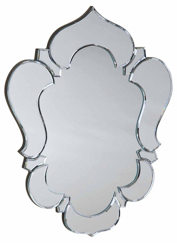 Gela Wall Mirror, Clear