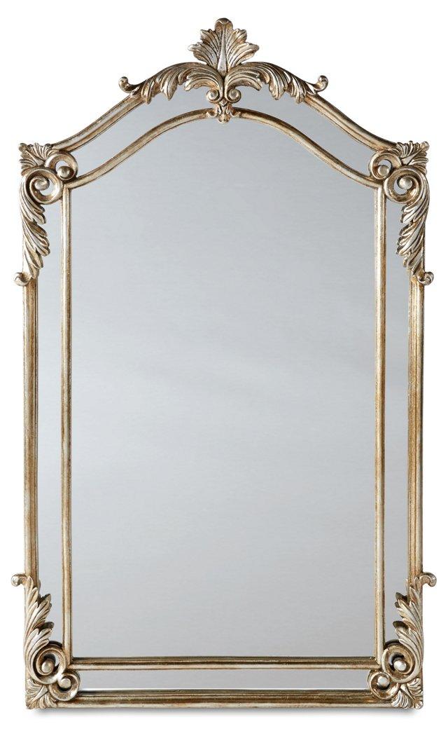 Nancy Oversize Mirror, Silver