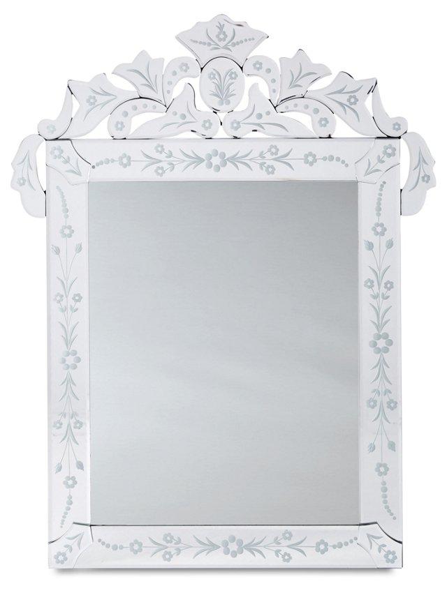 Olovet Wall Mirror, Clear