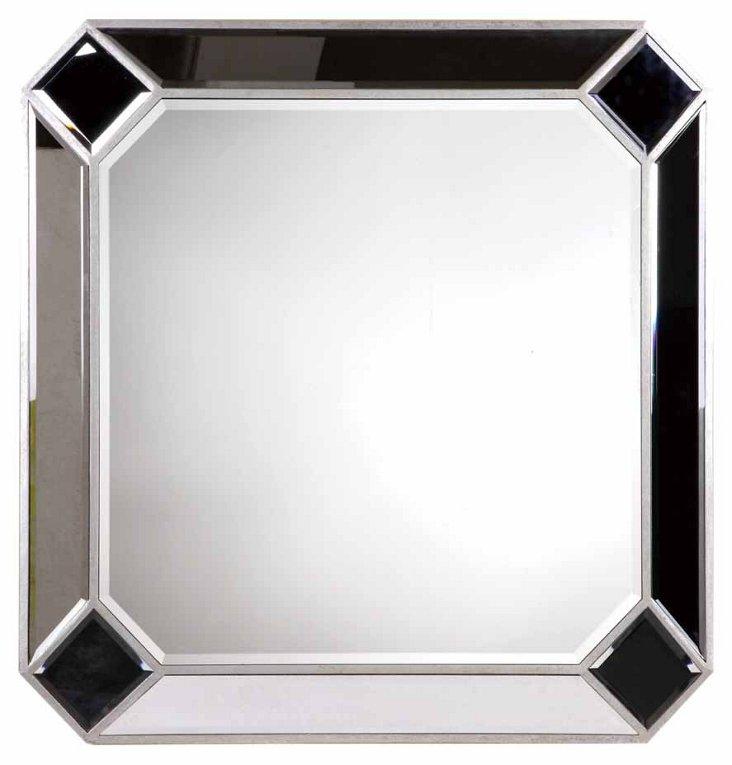 Clarity Wall Mirror, Silver