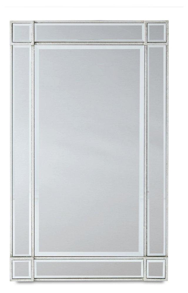 Marmet Wall Mirror, Silver/Clear