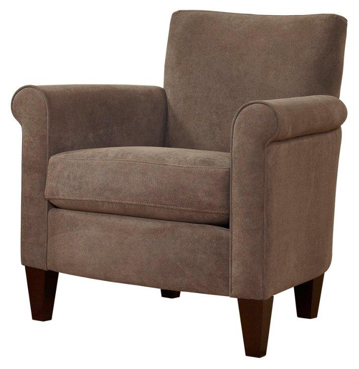 Vale Classic Club Chair, Ash