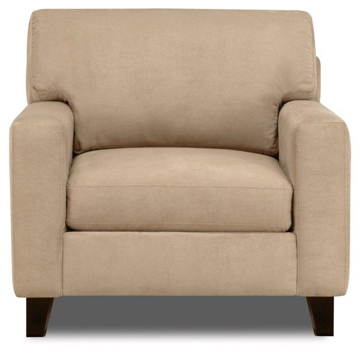 Haven Club Chair, Tan