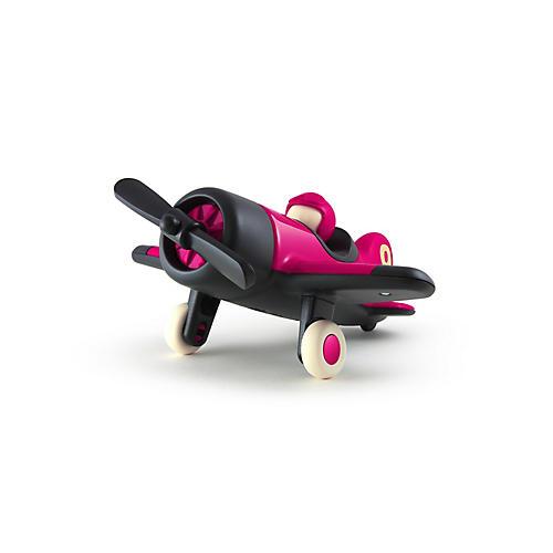 Mimmo Aeroplane Toy, Metallic Fuchsia
