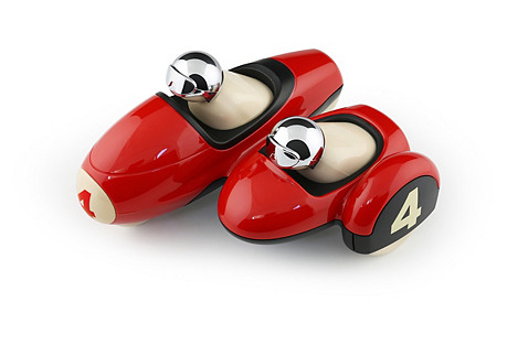 Enzo Motorbike Toy, Red