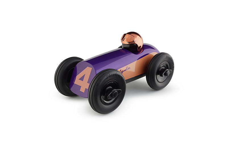 Midi Clyde Racer Toy, Purple/Copper