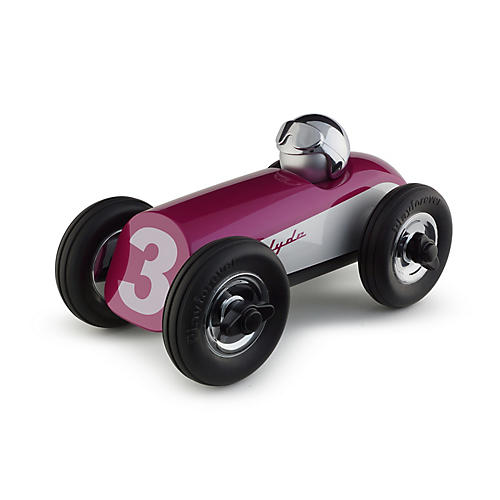 Midi Clyde Racer Toy, Pink/Chrome
