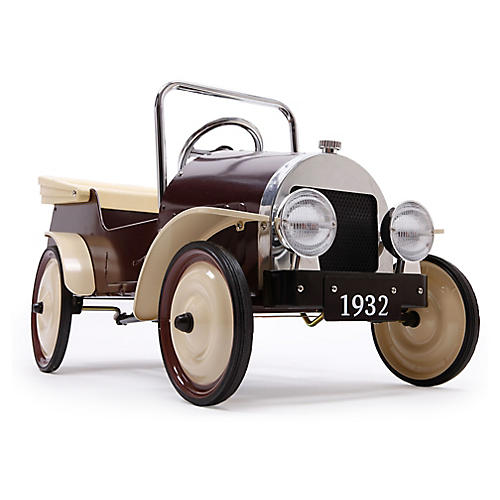Pedal Toy Car, Burgundy