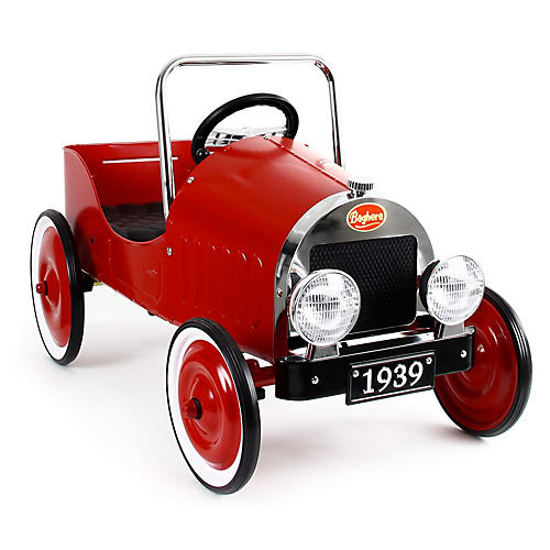 Pedal Toy Car, Red