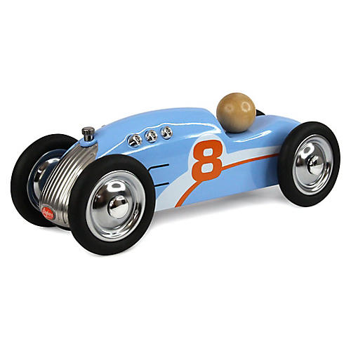 Rocket Toy Car, Blue