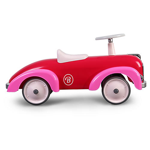 Speedster Toy Car, Pink/Red