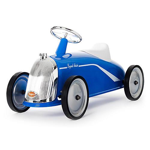 Rider Toy Car, Blue/Silver