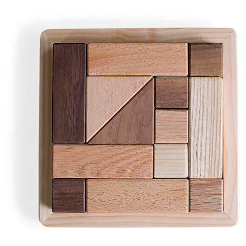 Kindler Mini Puzzle, Natural