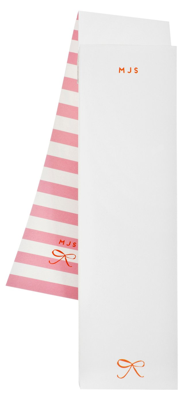 S/2 Custom Covered Notepads, Pink