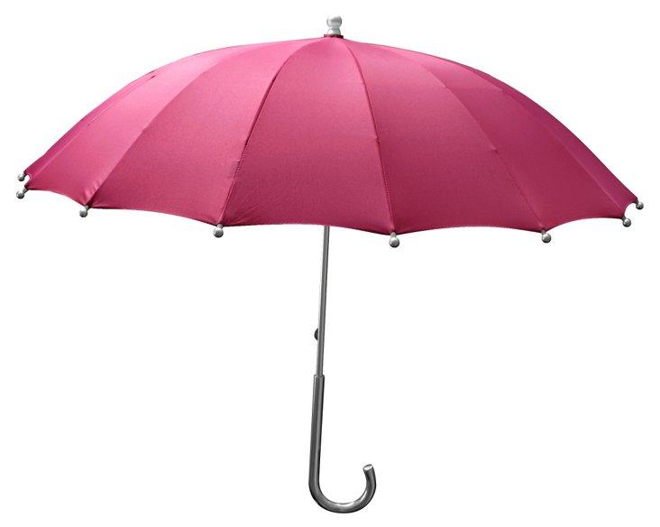 Tiffany Stick Umbrella, Pink